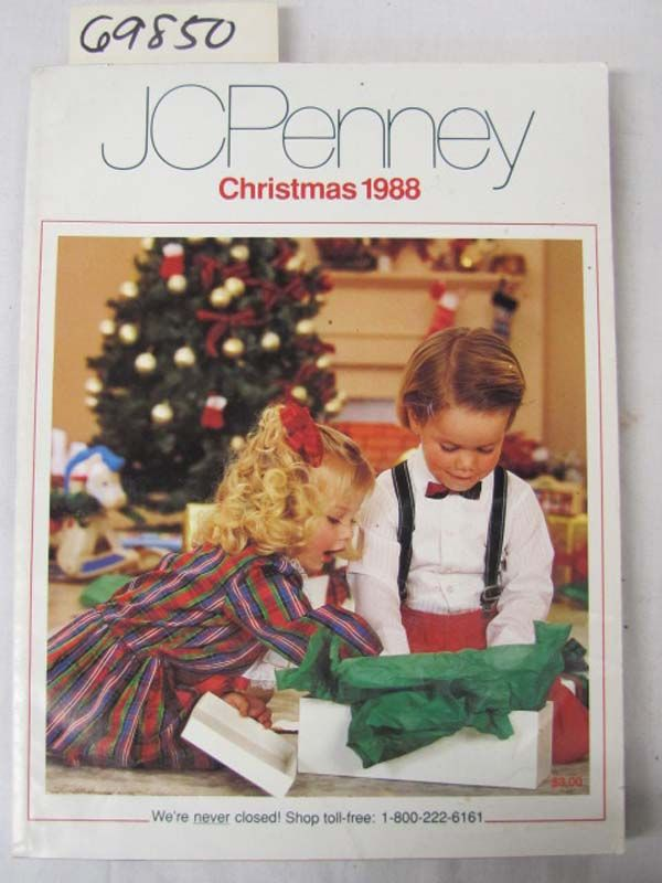 Jcpenney christmas catalog wish book cover1988