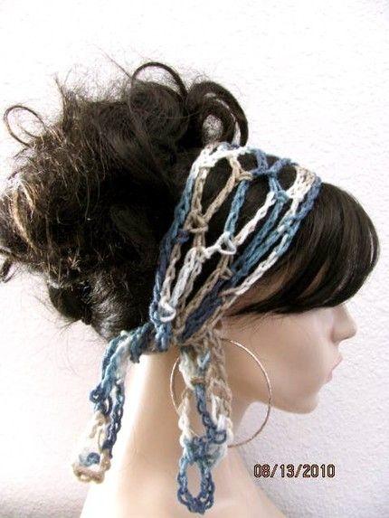 Crochet Hair Bands : crochet hair band Fascinating Pinterest
