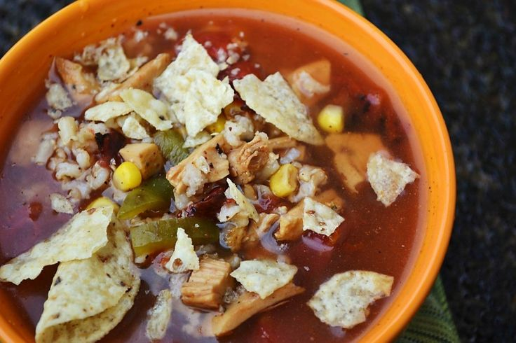 Fajita Chicken soup | Chicken Recipes-Food | Pinterest