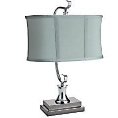 Classic Blue Task Lamp | Pier 1 Imports