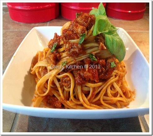 Linguini with a Braised Short Rib Ragout | My Main Course Recipes | P ...