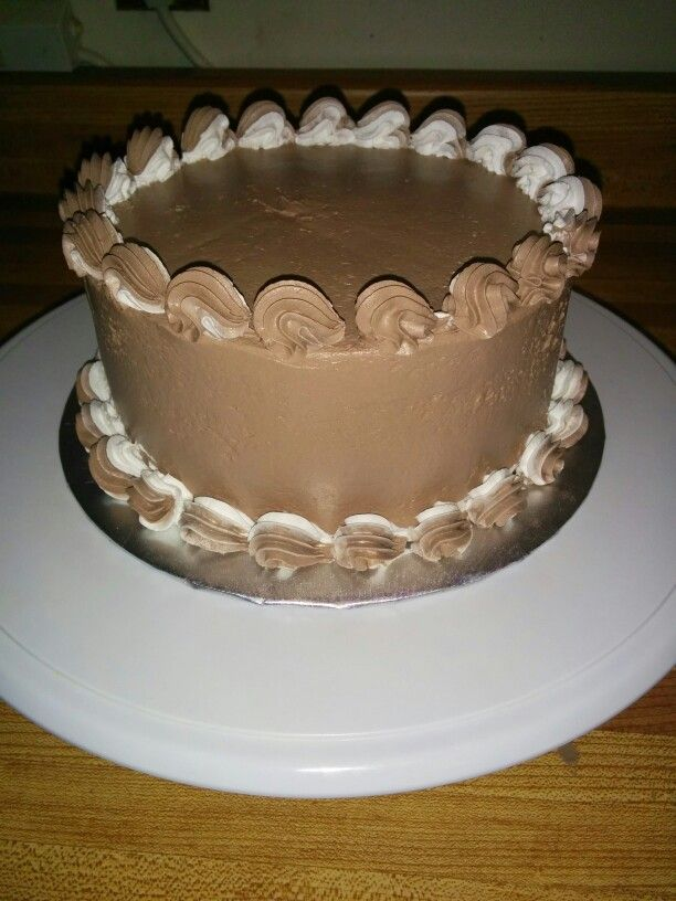 Bettercream practice cake 1 cake decorating pinterest