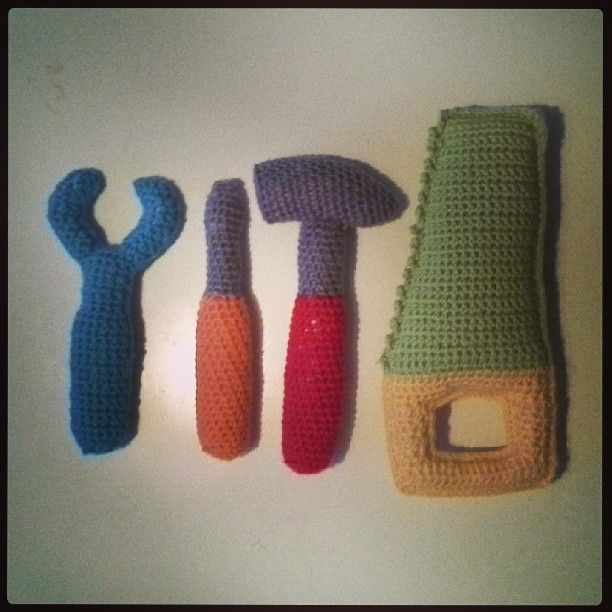 Crocheted tools for baby... For Mamas crochet addiction Pinterest