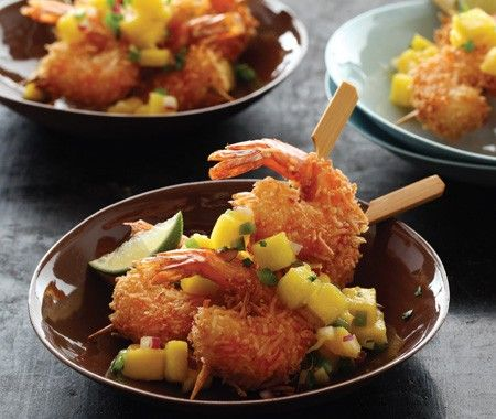 coconut shrimp - I want some!   Yummy Eats!!   Pinterest