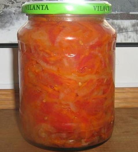 перец морковь томат на зиму рецепты