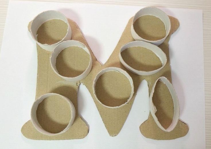 Как изготовить объемные буквы своими руками 30