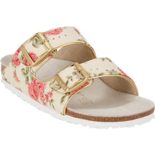 Fantastic Home  Birkenstock Gizeh Birkoflor Silky Womens Sandals In Floral