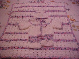 Twin Stitch Baby Blanket Baby Afghans Pinterest