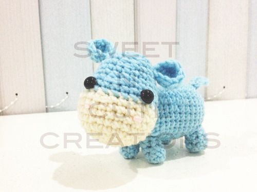 Amigurumi HIppo - Free Pattern Amigurumi (Crochet ...