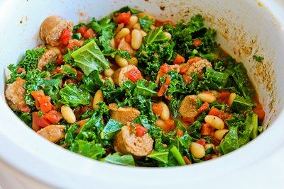 Cannellini Bean And Sausage Stew With Tomatoes And Basil Recipes ...