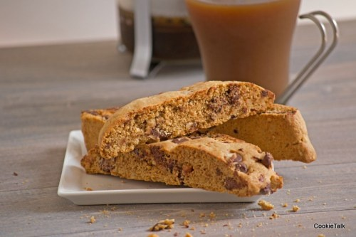 Chocolate Chip Hazelnut Biscotti. Easy to make and perfect with that ...