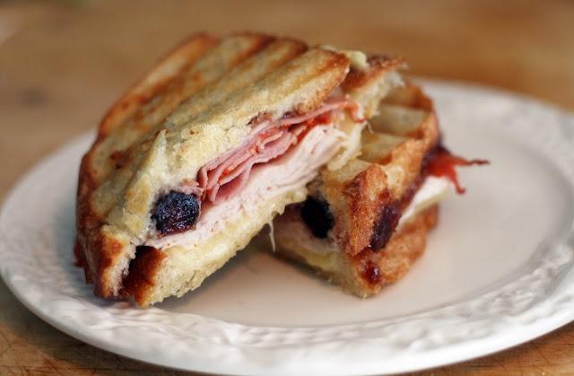 ... brie panini just a taste multigrain bread arugula brie brie fig pear