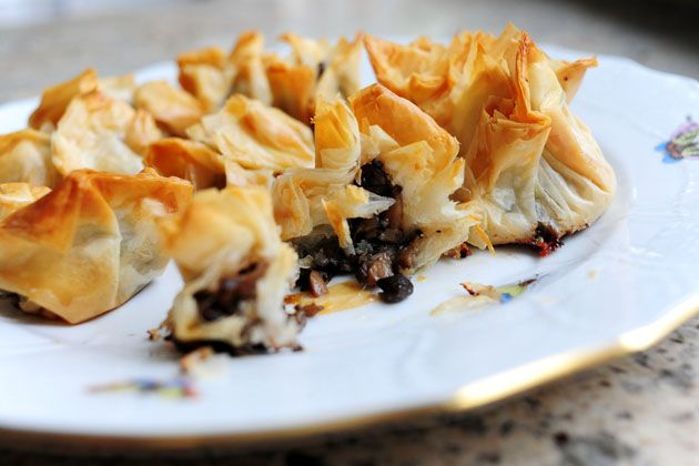 phyllo breakfast stacks phyllo fruit tart spanakopita spinach feta in ...