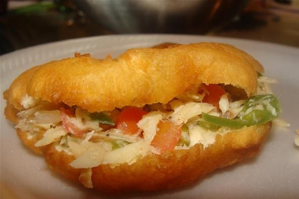 How to make fried bake and saltfish for How to make baked fish
