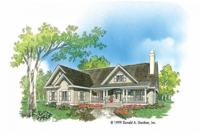 Cute Country House Plan Future Home Pinterest