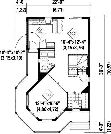 Tiny victorian house plans joy studio design gallery for Victorian style house floor plans
