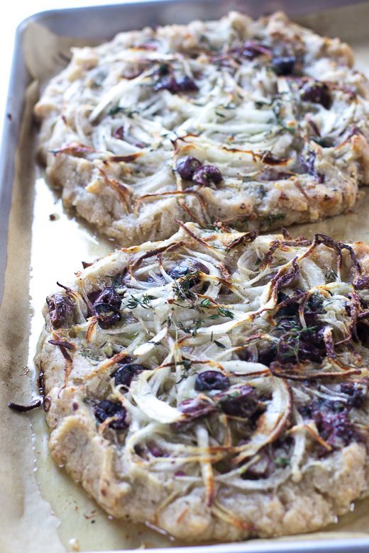 Onion, Black Olive & Thyme Tart « Kitchen to Nirvana