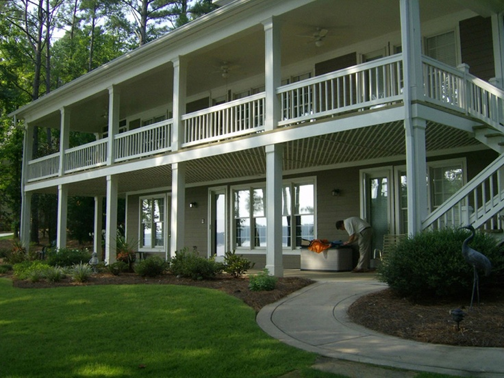 20 Wonderful Second Story Balcony House Plans 79932