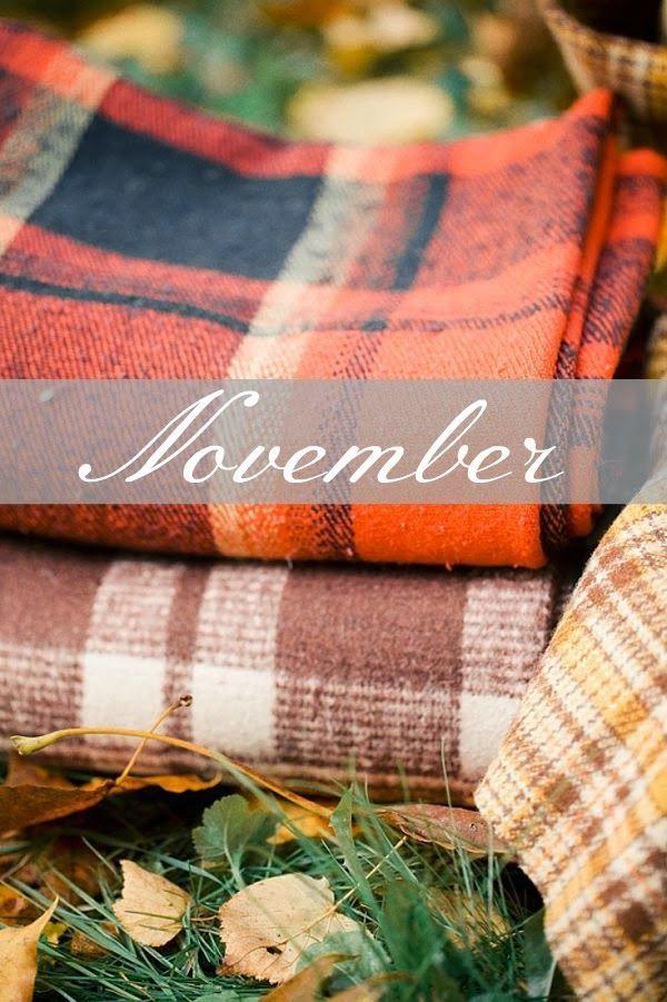 Hello November! #Month #Season #Fall