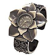 Decree® Womens Flower Bangle Watch    $20