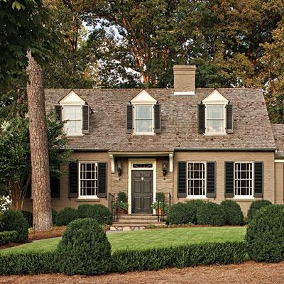 House cape cod style cottage 1930 exterior ideas for Cape cod style house colors