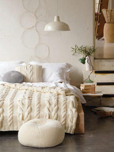 Knitting pattern cushion cover, free
