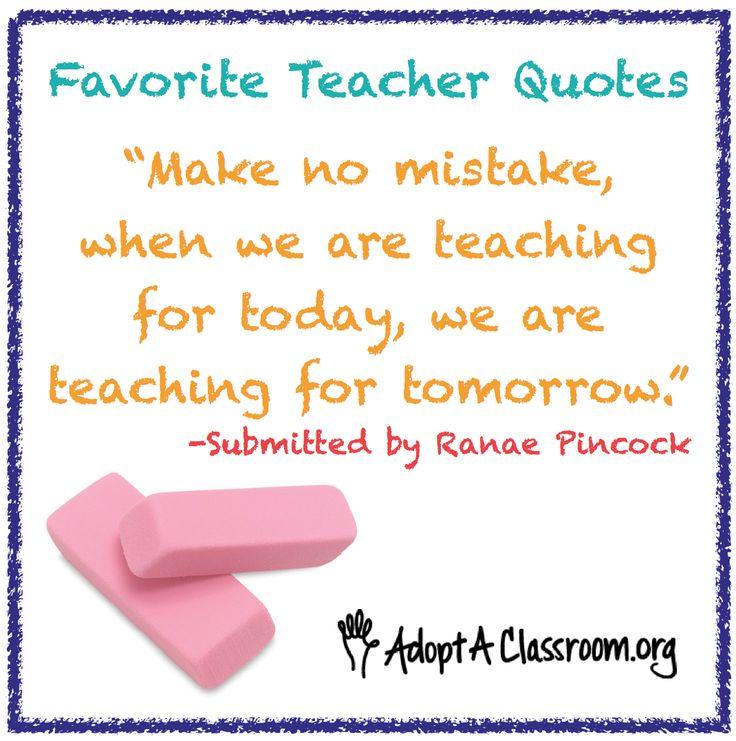 Teacher Quotes!