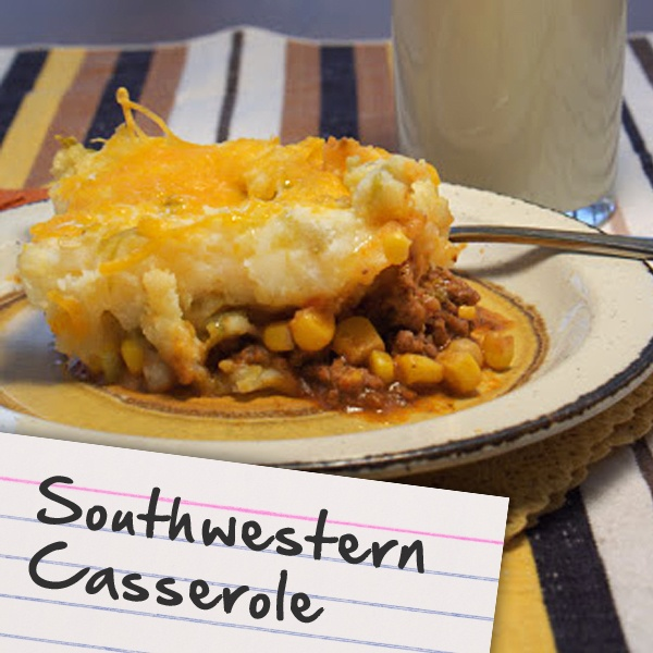 Recipes for Diabetes: Southwestern Casserole