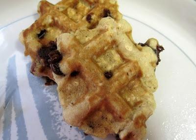 Recipe: Oatmeal Chocolate Chip Waffle Cookies