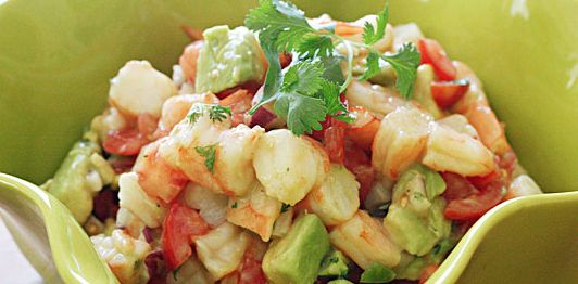 Lime Shrimp and Avocado Salad - Paleo Recipe Site | Paleoaholic