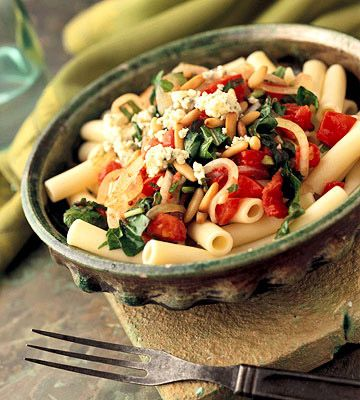 What's for dinner : Fresh Tomato and Arugula Pasta. We used spinach ...
