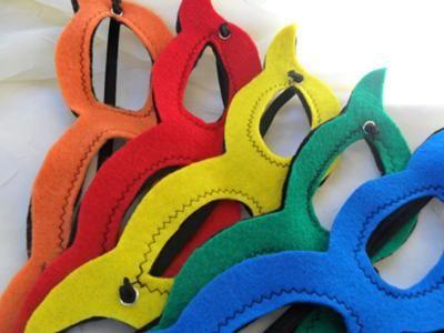Kids Crafts: Super Hero Masks