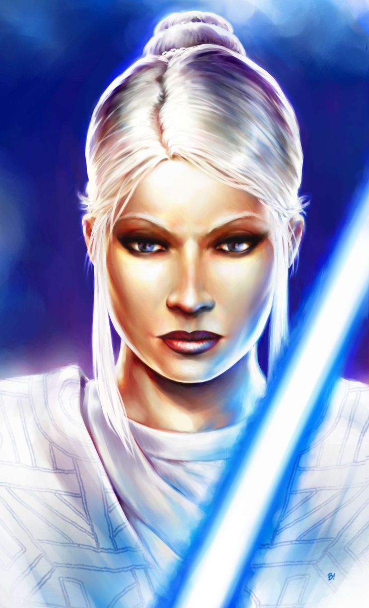Female Jedi | Star fantasy | Pinterest