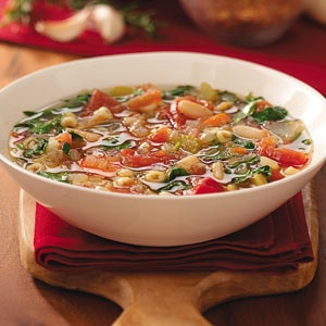 Bean and Pasta Soup | Recipe