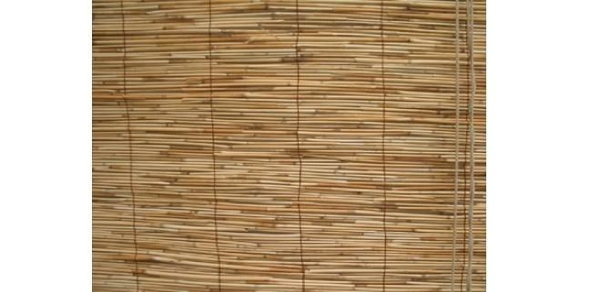 Japanese-Inspired Matchstick Blinds by