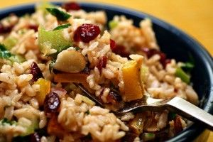 wild rice cranberry salad | Salads | Pinterest