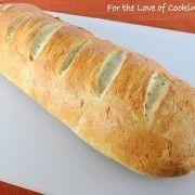 ROASTED GARLIC WHOLE WHEAT FRENCH BREAD | Breaking Bread... | Pintere ...