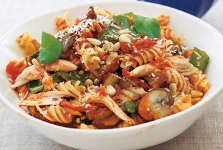 roasted chicken pasta | Recipes. | Pinterest