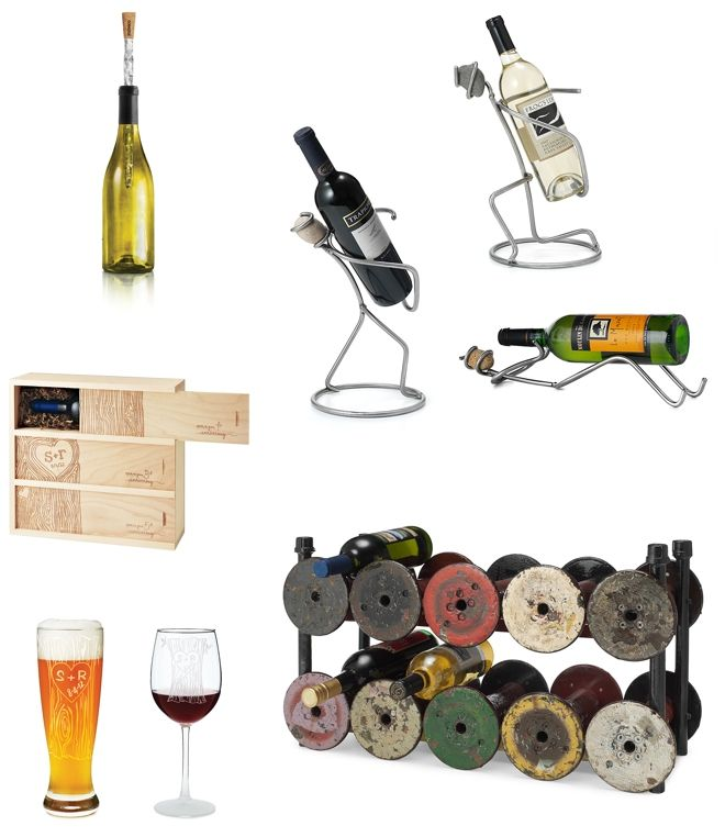 Cool Wedding Gifts for Wine Lovers from UncommonGoods Borrowed ...