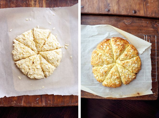 Orange Almond Scones | the belly rules the mind. | Pinterest