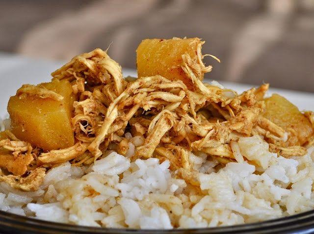 Curried Pineapple Chicken Crockpot