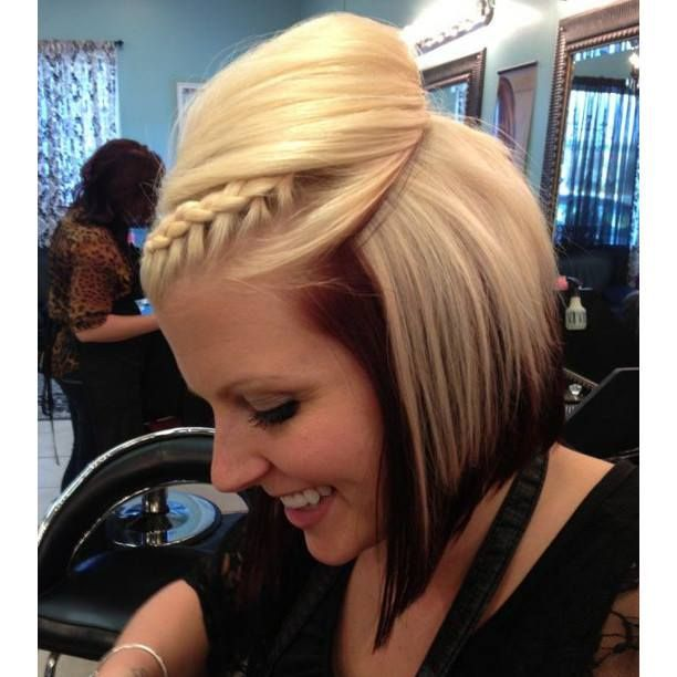 Bob, braid, highlights | Hairstyles | Pinterest