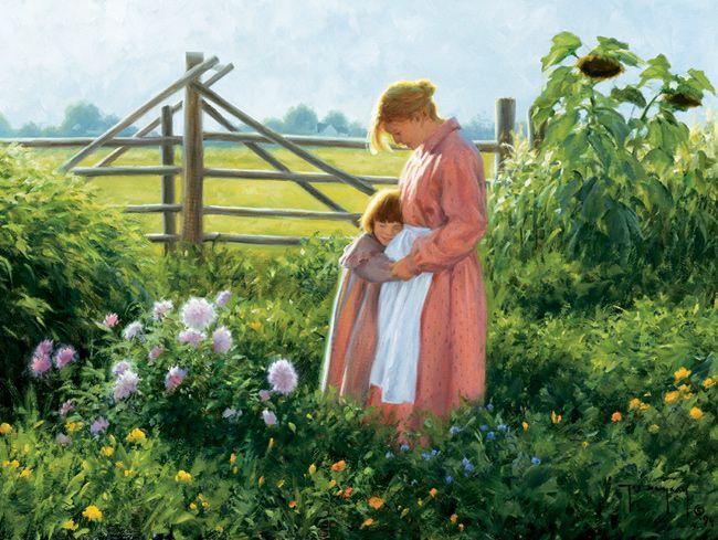 *Maggie And Her Mother...artist Robert Duncan