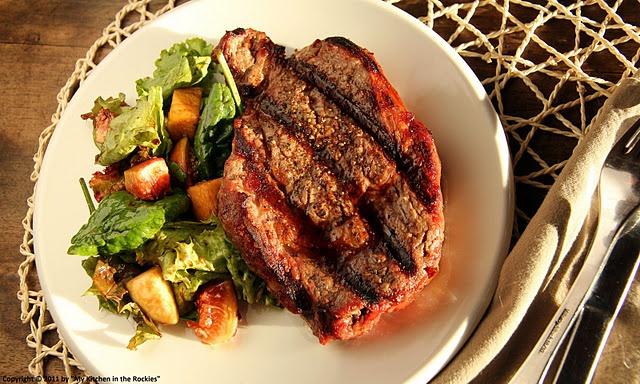 The perfectly grilled rib eye steak | Food, Glorious, Food | Pinterest