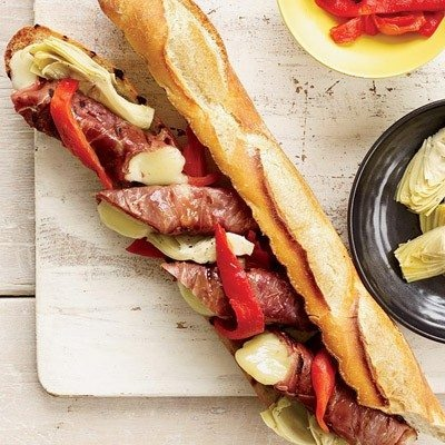 Double Grilled Antipasto Sandwiches