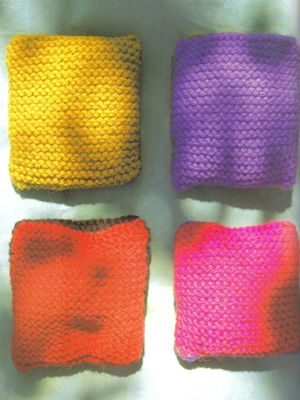 Crochet Knit Stitch Waldorf : knitted bean bags bulky yarn size 8 needles cast on 20 stitches work ...