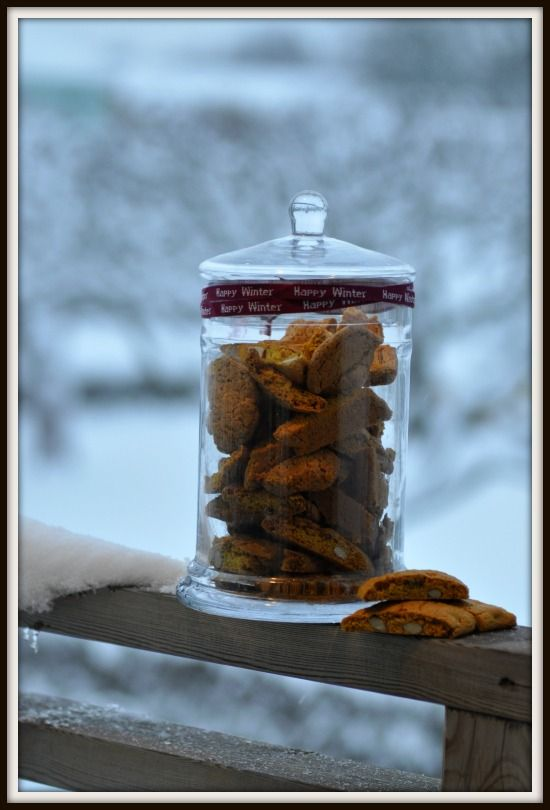 Saffron biscotti's - See more in my blog http://imittkok.se