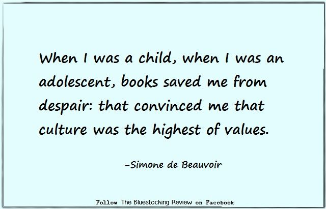 Quotable - Simone de Beauvoir,