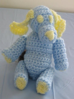 Crochet Patterns Dog Toys : Free! - crocheted dog pattern Crochet dog toys Pinterest