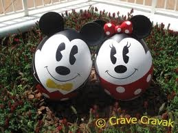 Mickey and Minnie Mouse Eggs